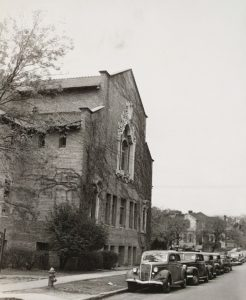 Sanctuary Prior to the Construction of the Education Building